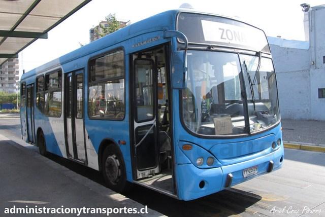 Transantiago E04 | Unitran | Marcopolo Gran Viale - Mercedes Benz / YY2529