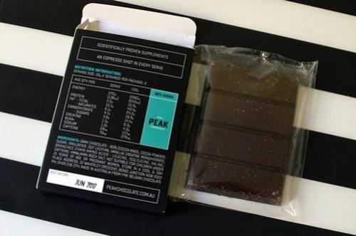 Peak chocolate bar NIP
