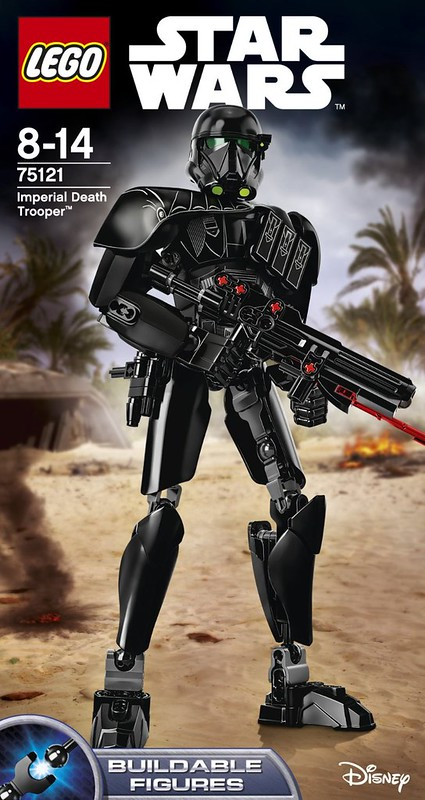 LEGO Star Wars Rogue One 75121 Imperial Death Trooper Buildable Figure