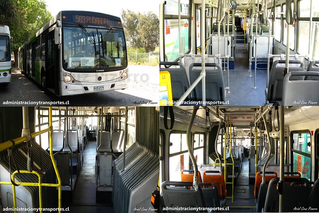 Transantiago 503 | Metbus | Caio Mondego HA - Mercedes Benz O500UA / BJFJ14