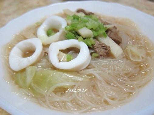 竹筍海鮮米粉