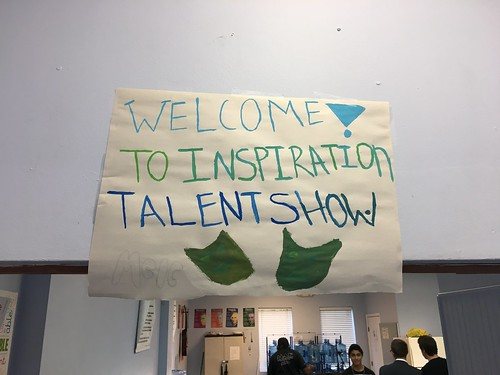 Inspirations Talent Show in addiction therapy