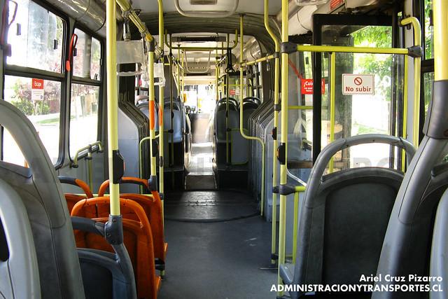 Transantiago (Interior Articulado) - Express de Santiago Uno - Marcopolo Gran Viale / Volvo (ZN5804)
