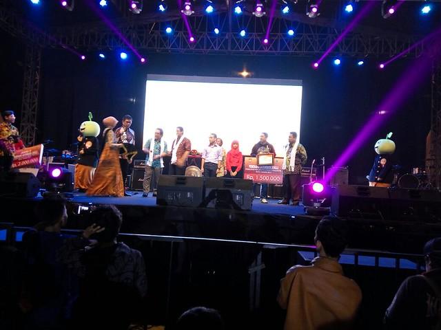 Suasana launching pilkada Kota Batu(30/7)