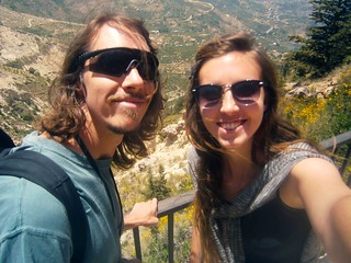 Kyle and Briana On The Way To Kadisha