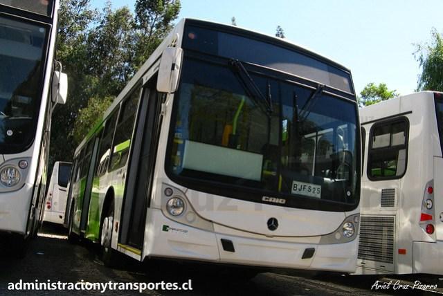 Transantiago - Buses Vule - Caio Mondego H / Mercedes Benz (BJFS25)