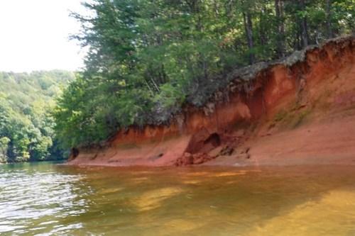 Lake Jocassee with Bennie Waddell-40