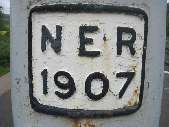 Battersby Junction, 1907 Water Column