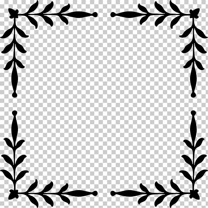 Download Download Free Leaf Border Svg PNG Free SVG files ...