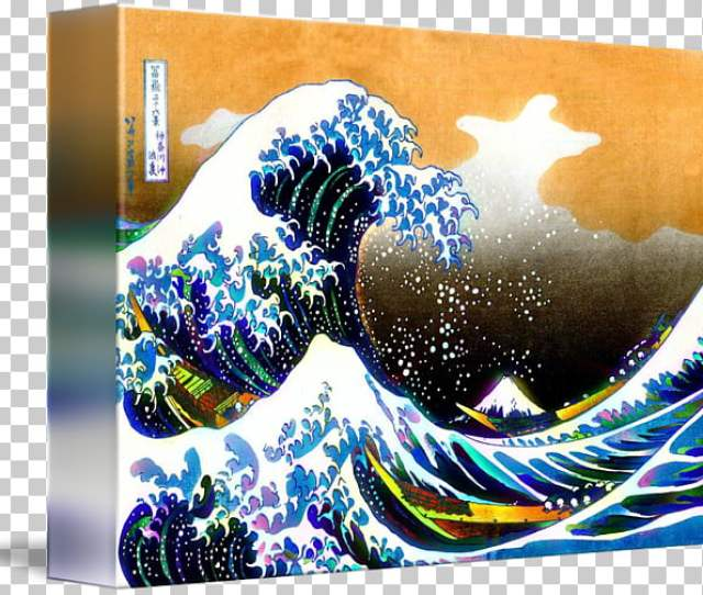 The Great Wave Off Kanagawa Fine Wind Clear Morning Sumida Hokusai Museum Painting Artist