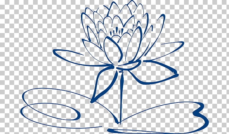 Nelumbo Nucifera Black And White Flower Simple Flower Outline Png Clipart Free Cliparts Uihere