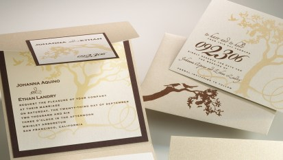 Stylish Papery :: Johanna & Ethan Wedding Invitation Suite