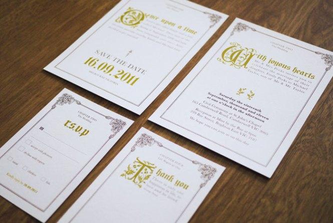 Wedding Invitation Suite On Luulla