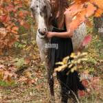 Woman With Appaloosa High Resolution Stock Photography And Images Alamy