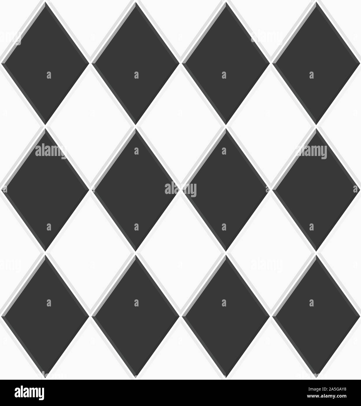 https www alamy com abstract seamless rhombus pattern black white ceramic floor tiles design geometric mosaic texture for the decoration of the kitchen room vector ill image330430108 html