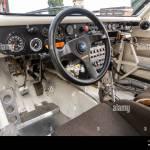 Audi Quattro S1 Rally Car Interior Stock Photo Alamy