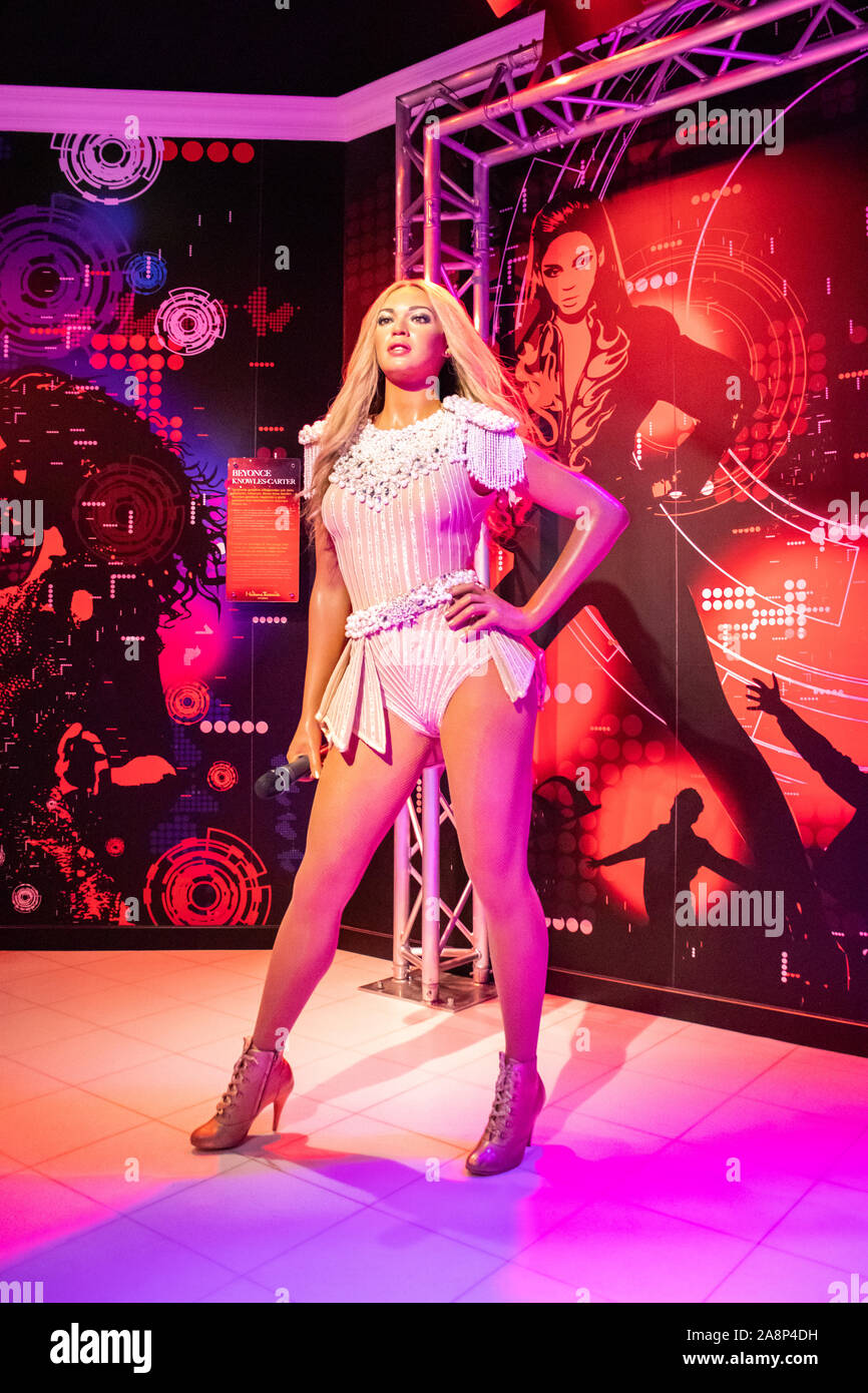https www alamy com beyonce wax figure at madame tussauds museum in istanbul beyonce giselle knowles carter is an american singer songwriter and actress image332400701 html