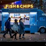 Food Truck Winter Festival High Resolution Stock Photography And Images Alamy