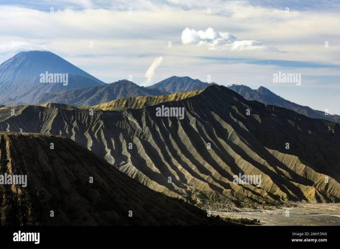 Close Up View Of The Mount Bromo Crater During A Beautiful Sunrise Mount Bromo Is An Active Volcano In East Java Indonesia Stock Photo Alamy