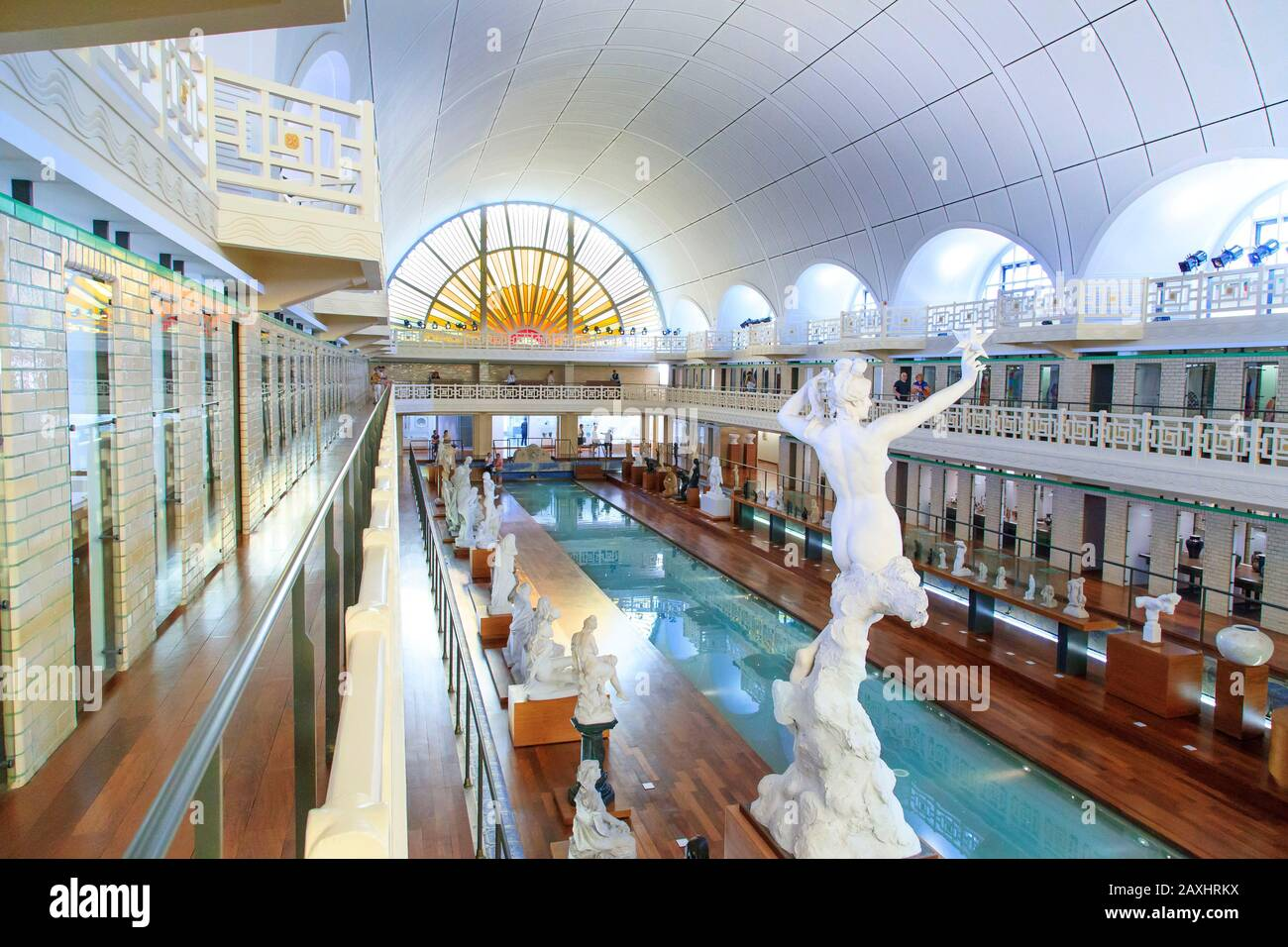 https www alamy com roubaix northern france la piscine the swimming pool museum of art and industry in a former art deco style swimming pool built by albert baert image343369822 html