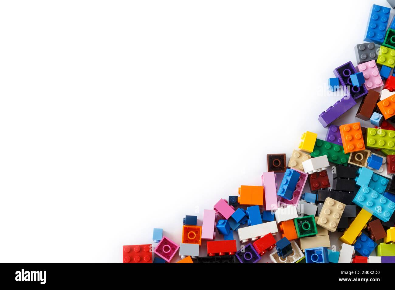 Pile Of Lego High Resolution Stock Photography And Images Alamy