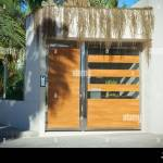 Big Wooden And Crystal Entrance Door Of A Big Modern House Stock Photo Alamy