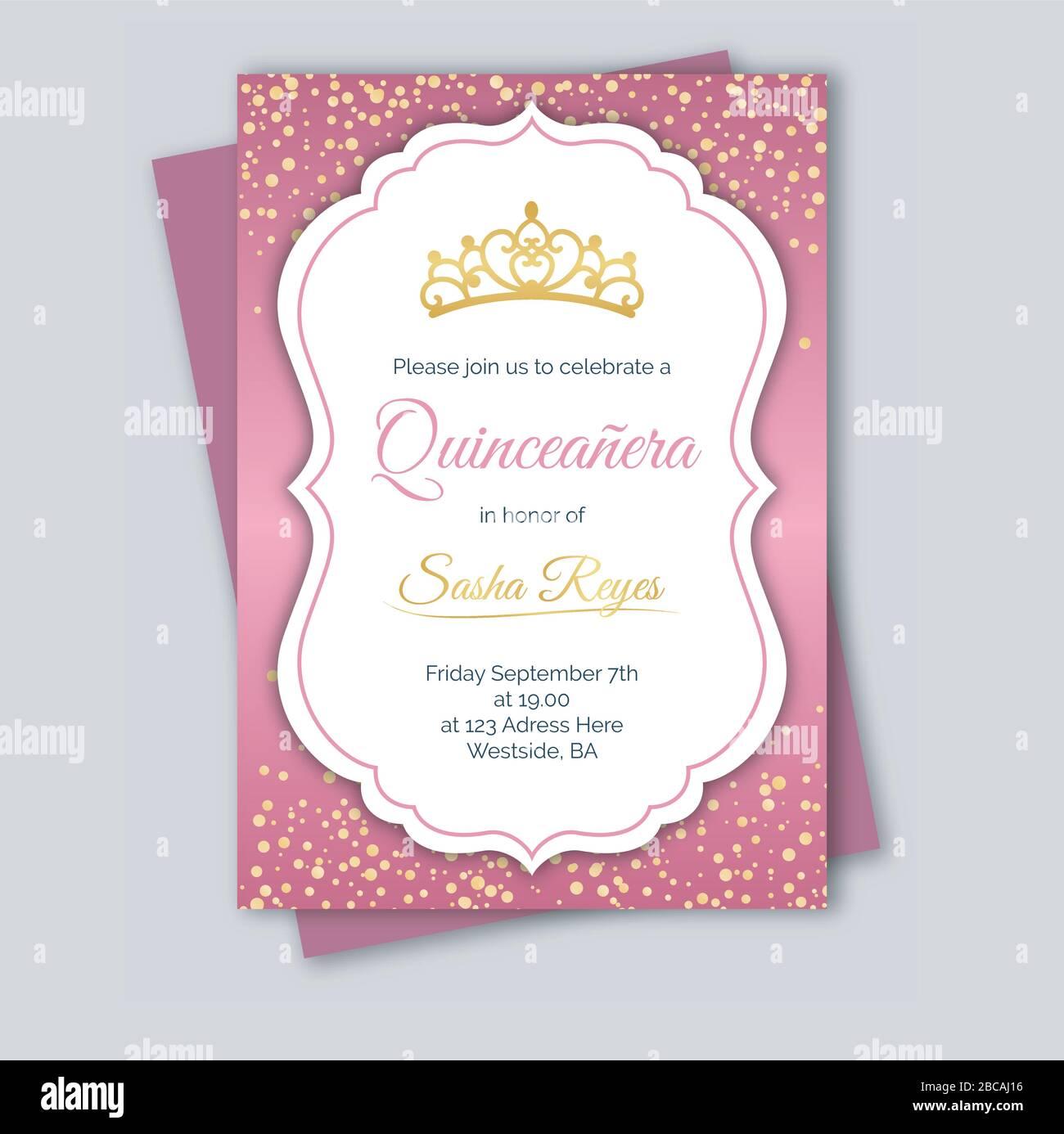 https www alamy com happy birthday invitation card template image351816898 html
