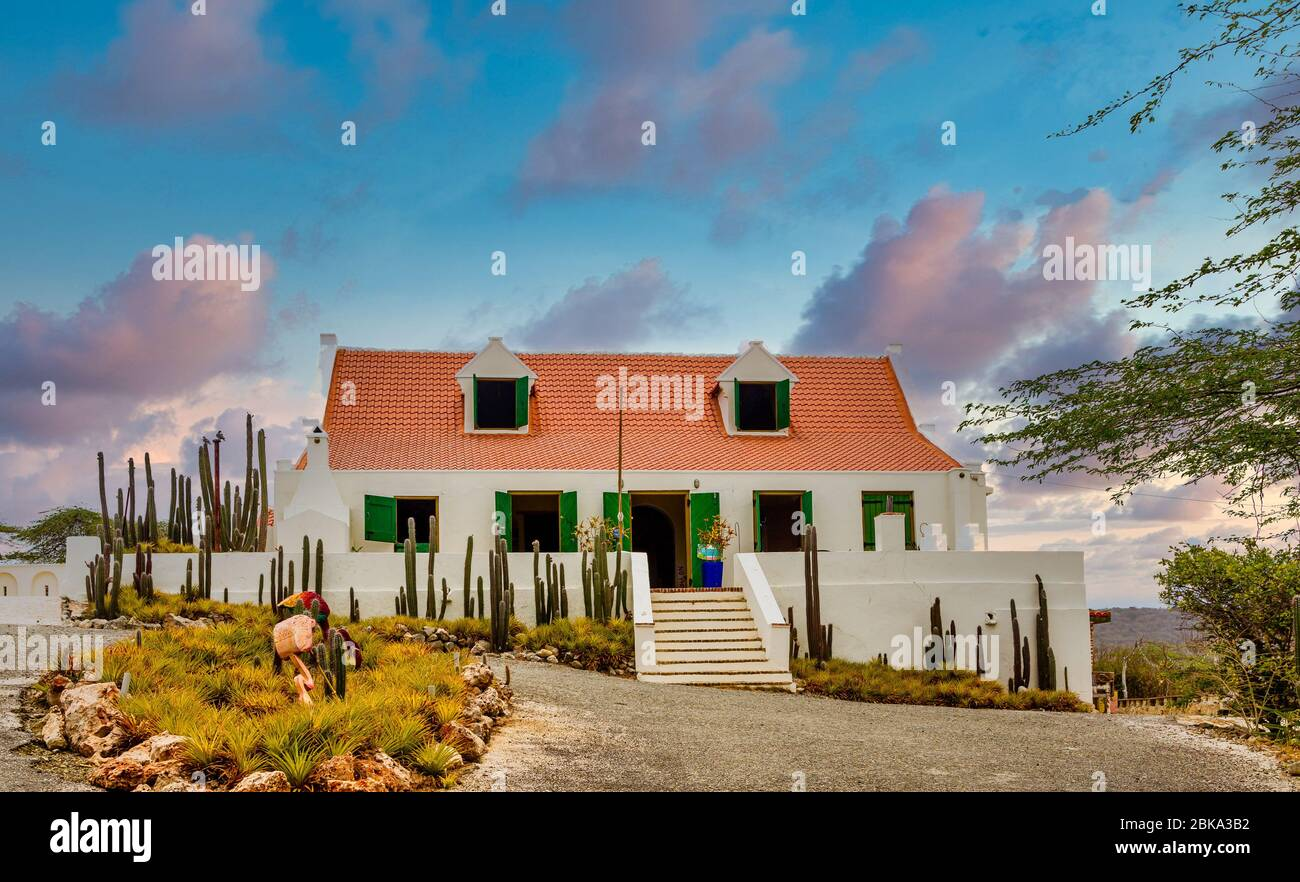https www alamy com white stucco house with red tile roof image356108006 html