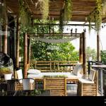Exterior Design And Decoration Furniture At Terrace Outdoor Of Cafe Coffee Shop For Thai People And Foreign Travelers Eat And Drinks At Mukdahan Thai Stock Photo Alamy