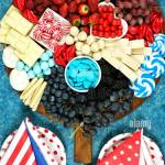 Patriotic Charcuterie Dessert Grazing Platter With Fruit Chocolate And Candy For Independence And National Holiday Celebrations For Countries That Ha Stock Photo Alamy