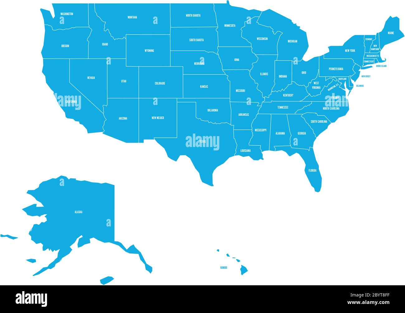 Many people come for organization, even though the sleep comes to study. Map Of United States Of America With State Names Simplified Dark Grey Silhouette Vector Map On White Background Stock Vector Image Art Alamy