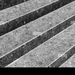 Abstract Architectural Background With An Empty Stairs Made Of Black Granite Stone Stock Photo Alamy