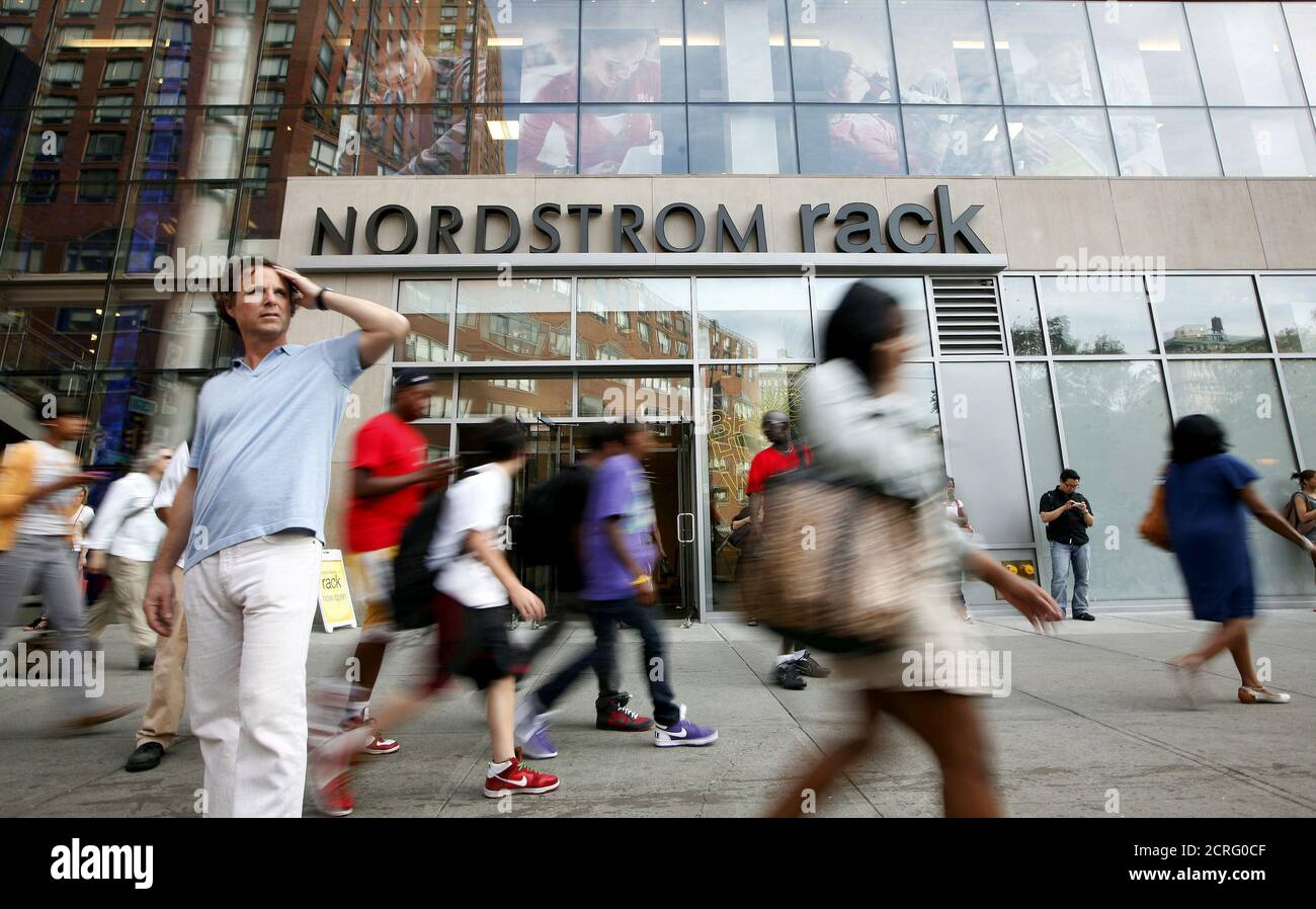 https www alamy com people walk past the nordstrom rack store in new yorks union square may 21 2010 reuterschip eastfile photo global business week ahead package search business week ahead nov 7 for all images image375906399 html
