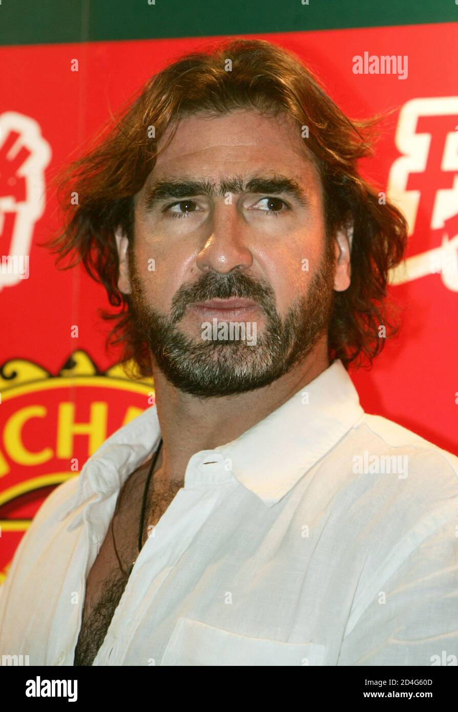 French actor and former international footballer for. Eric Cantona Manchester United High Resolution Stock Photography And Images Page 4 Alamy