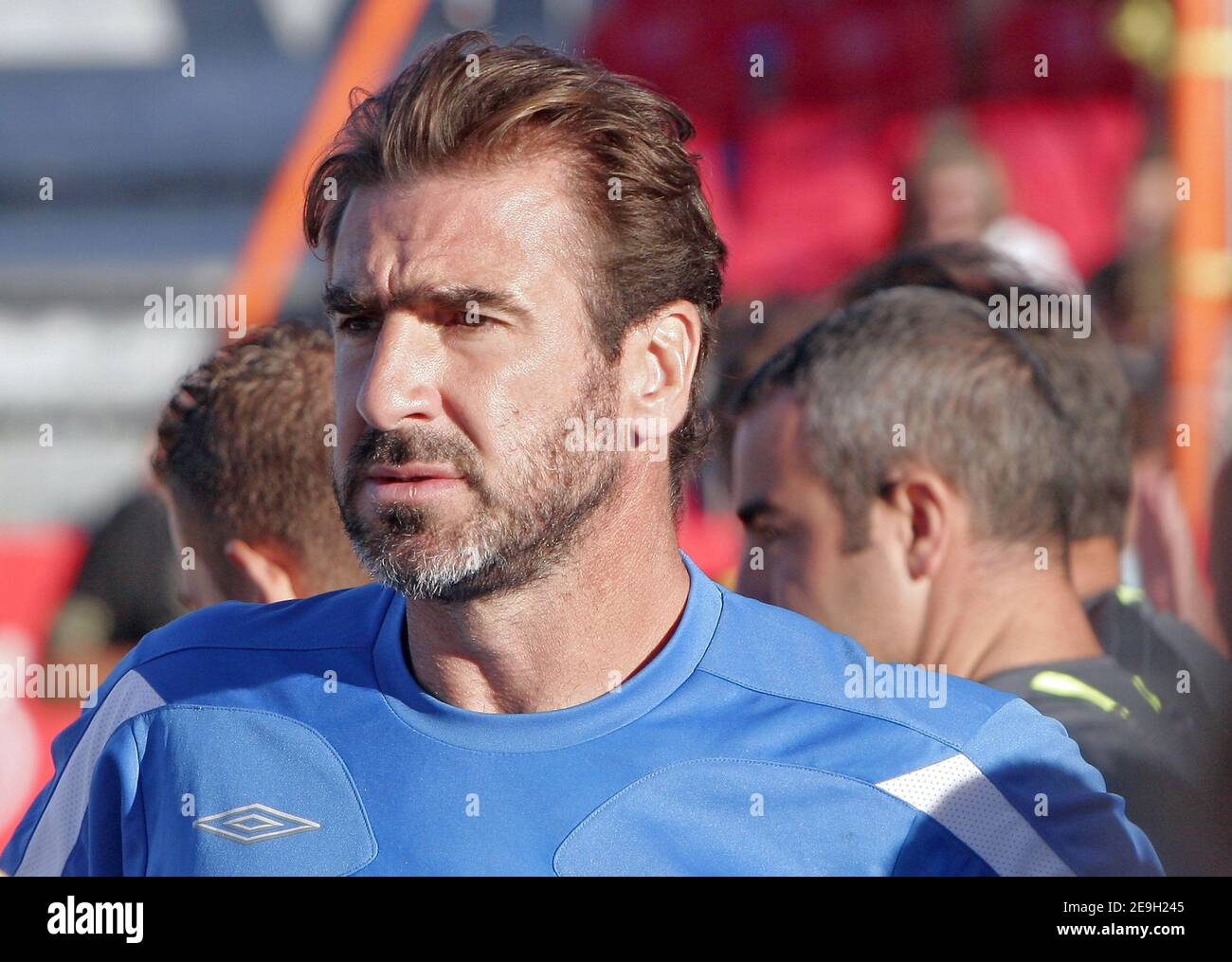 C'est l'amour de ma vie, et j'aime l'om parce que c'est marseille Eric Cantona Marseille High Resolution Stock Photography And Images Alamy