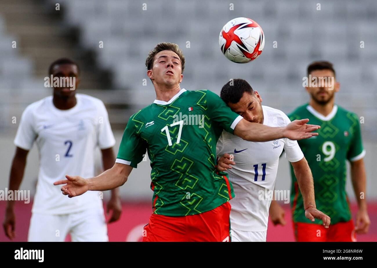 Michele tescher 6 min quiz soccer, or football as it is. Tokyo 2020 Olympics Soccer Football Men Group A Mexico V France Tokyo Stadium Tokyo Japan July