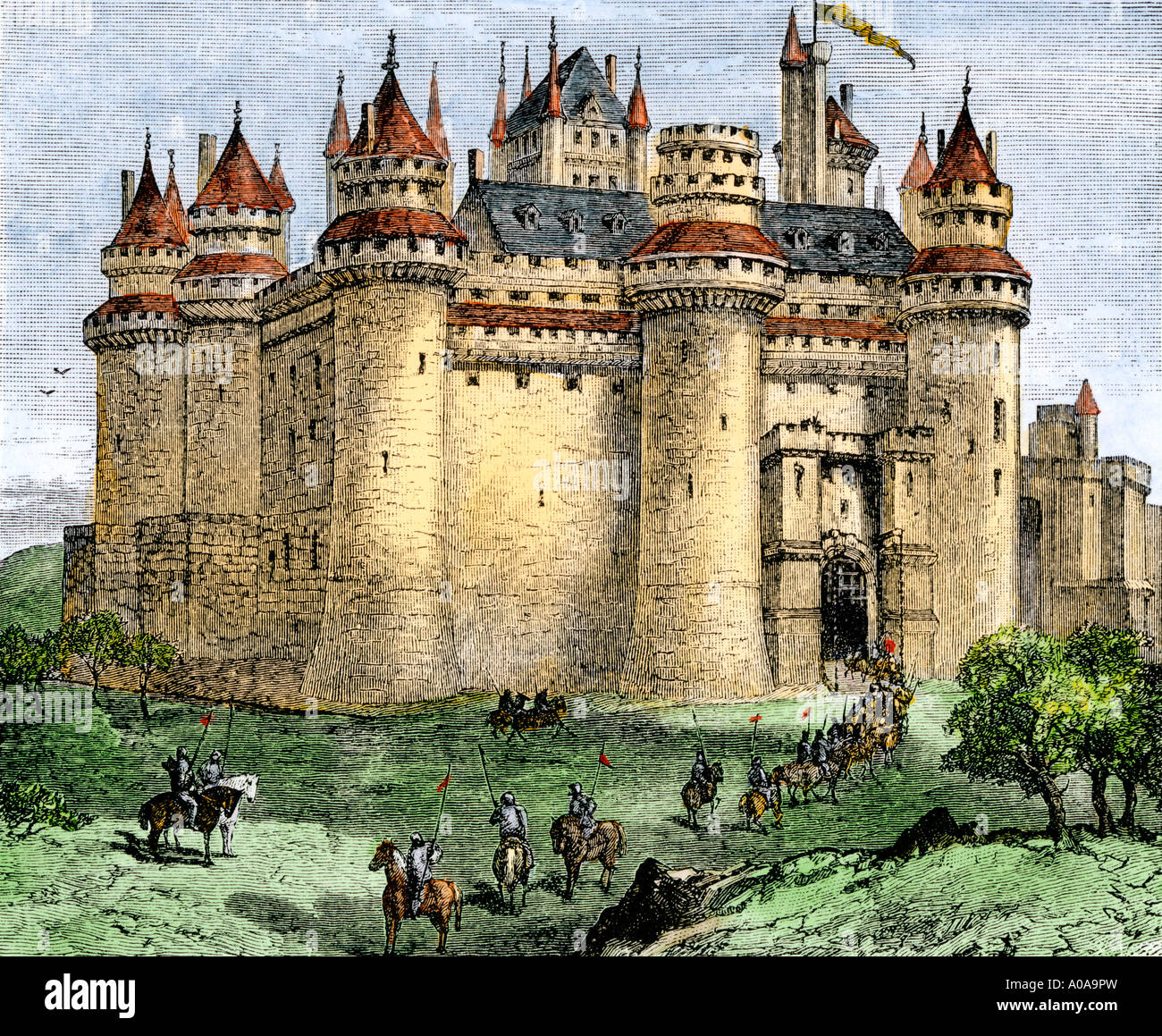 Middle Ages Britain High Resolution Stock Photography And