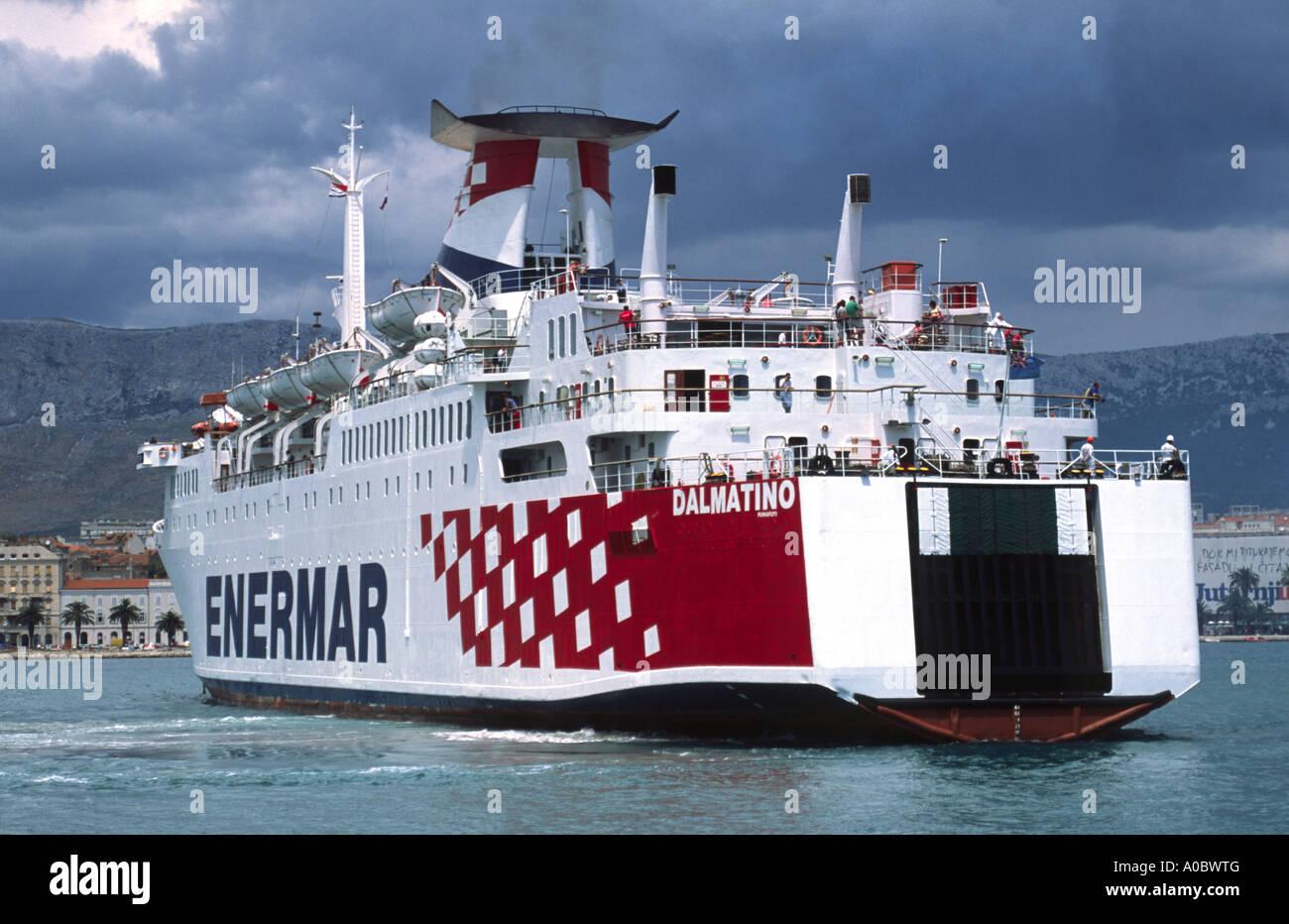 Ferry Split Italy