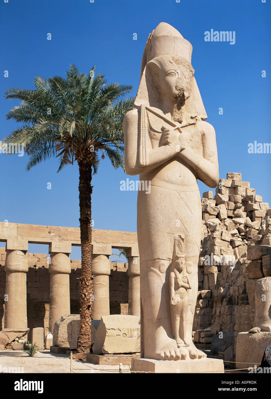 Colossal Statue Of Ramses Ii Luxor Temple Thebes Unesco