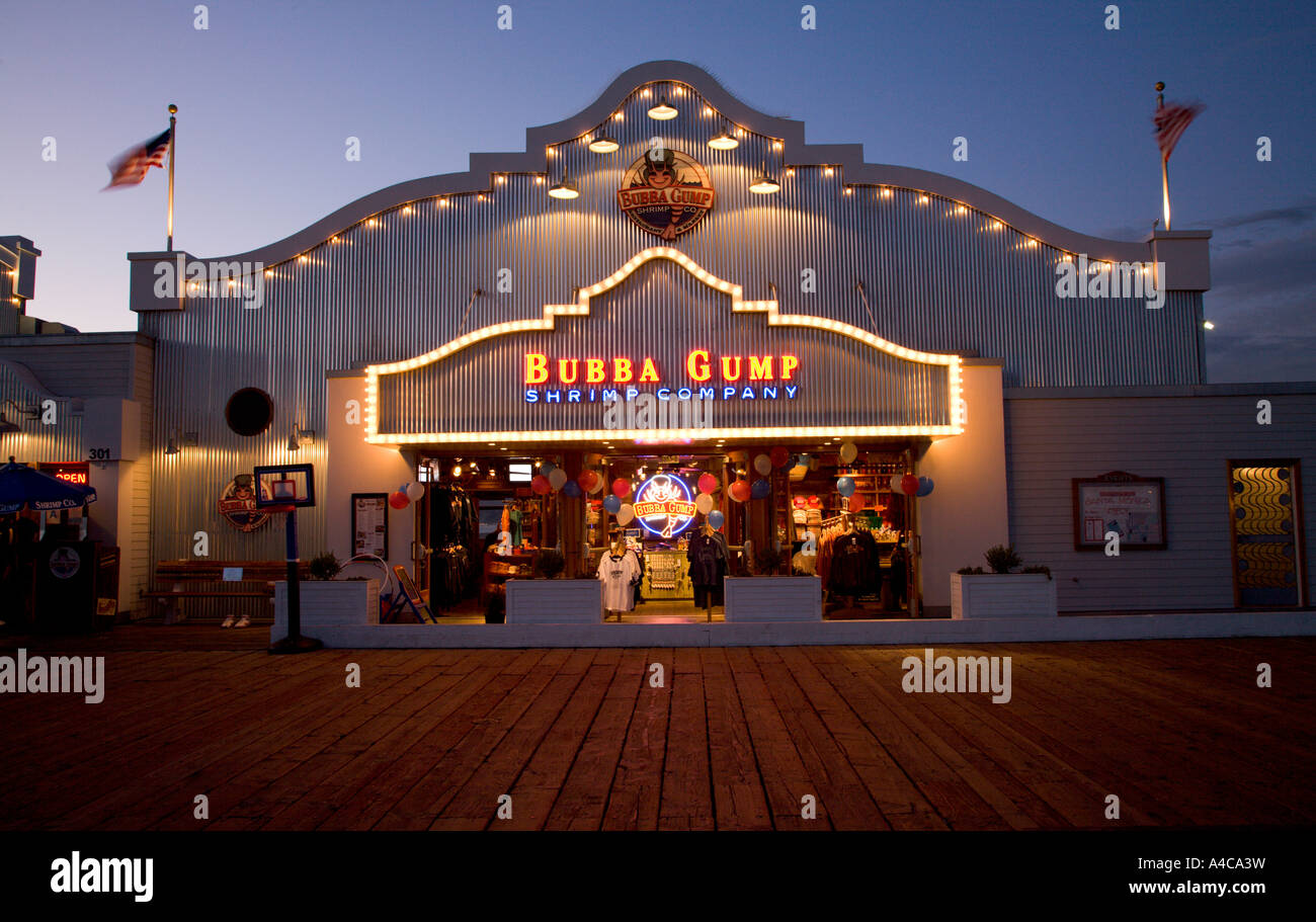 Santa Shrimp Bubba Gump Monica