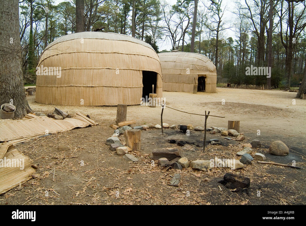 Jamestown Settlement Virginia Home Of The First English