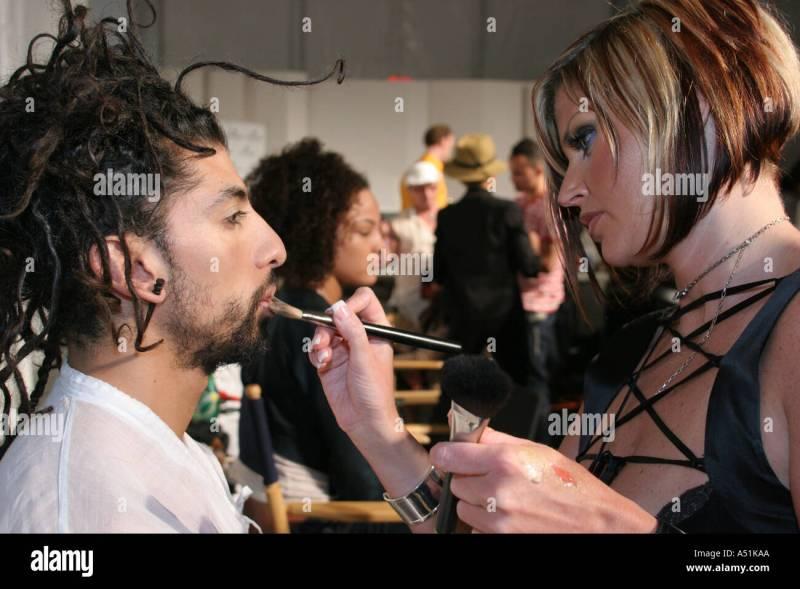 Miami Beach Florida South Funkshion Fashion Show Black Male Cynthia D Makeup Artist Gtgt