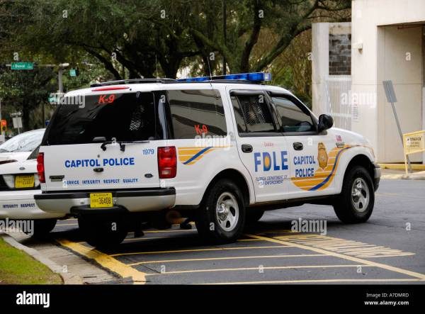 Tallahassee Florida capitol police vehicle Stock Photo ...