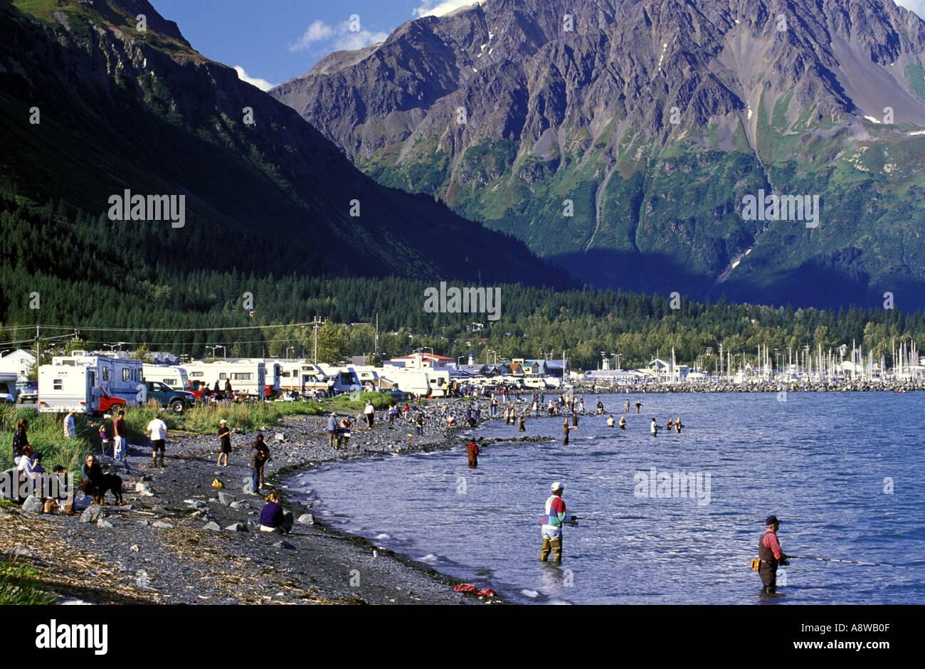 Fishing In Resurrection Bay Kenai Peninsula Seward Alaska