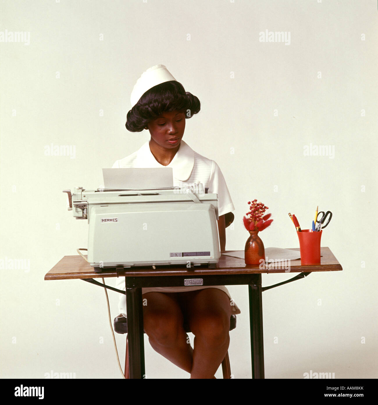 Image result for Black woman at a typewriter