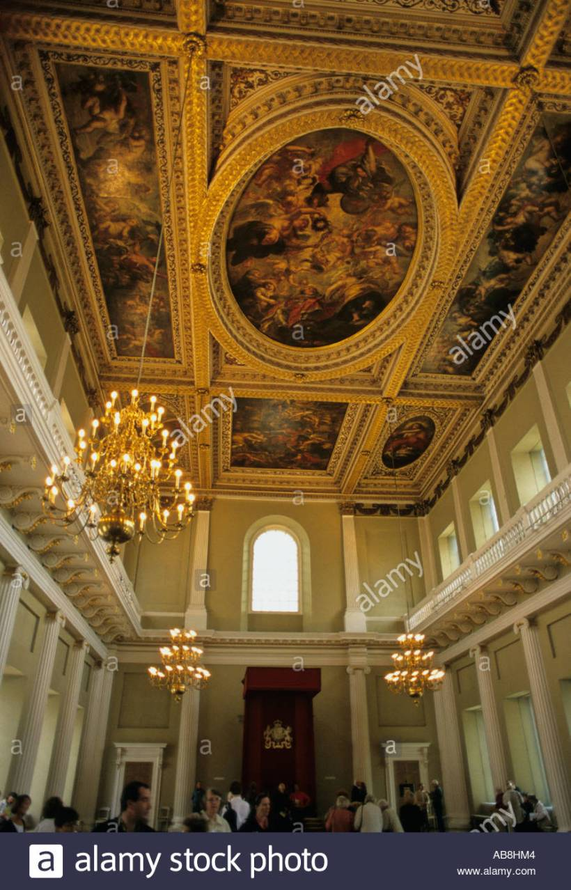 Baroque ceiling energywarden the baroque ceiling painted by rubens in banqueting house dailygadgetfo Gallery