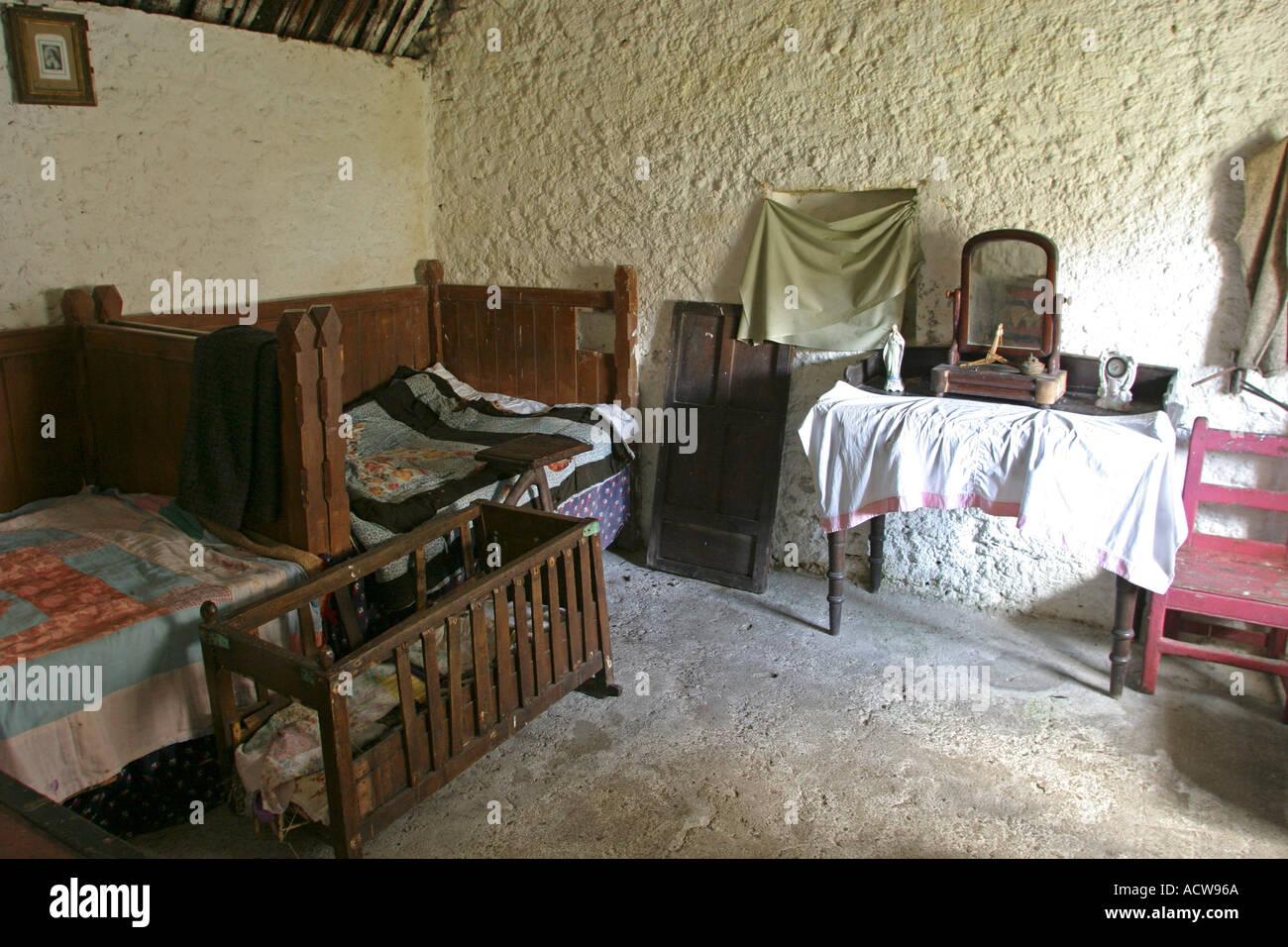 Ireland County Donegal Glencolmcille Folk Village 1800s