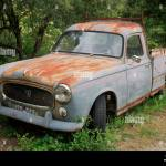 Old Rusty French Car Peugeot 403 Stock Photo Alamy