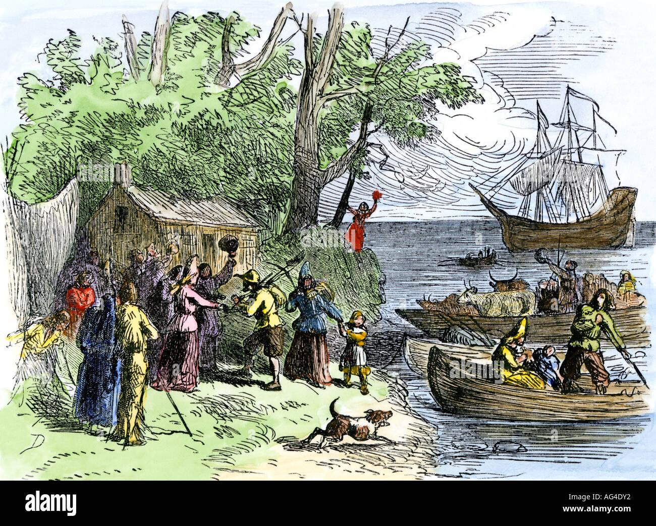 Animals New York Colony 1600s