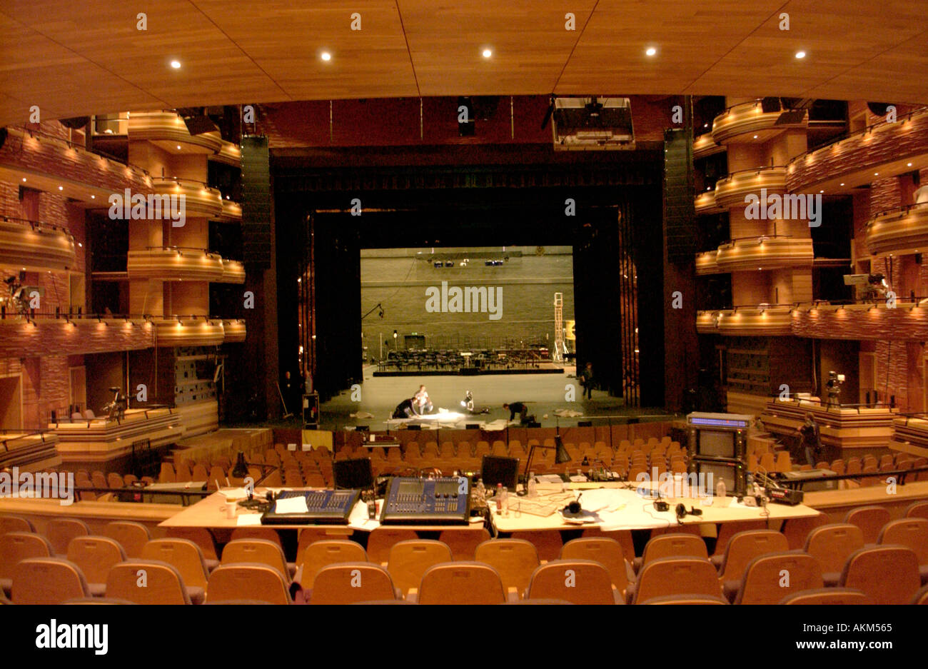 Inside The Main Auditorium The Donald Gordon Theatre In